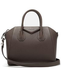 Givenchy - Antigona Small Grained-leather Bag - Lyst