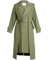 Toga - Pleat-front Belted Trench Coat - Lyst