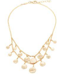 Jacquie Aiche - Bracelet de cheville en or à ornements charms - Lyst