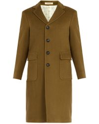 Massimo Alba - Patch Pocket Wool Coat - Lyst