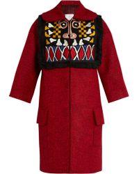 Stella Jean | Pregare Embroidered Coat | Lyst