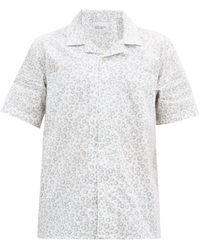 Albam ハバナ サンプリント コットンシャツ - マルチカラー