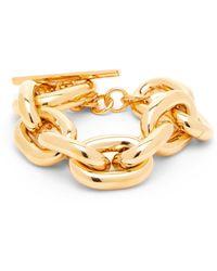 Paco Rabanne Chunky Chain Bracelet - Metallic