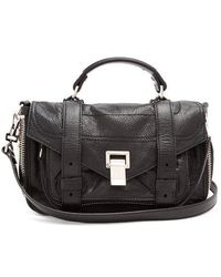 Proenza Schouler - Ps1 Tiny Paper-leather Cross-body Bag - Lyst