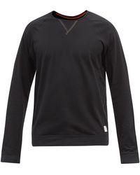 Paul Smith コットン ロングスリーブtシャツ - ブラック