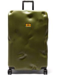 Crash Baggage ストライプ スーツケース 79cm - グリーン