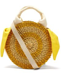 Muuñ Rosa Straw Bag - Multicolour
