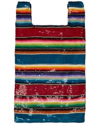 Ashish - Striped Sequined Bag - Lyst