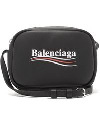 Balenciaga - Everyday Leather Cross Body Bag - Lyst