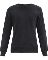 Frescobol Carioca Leblon Organic-cotton Sweatshirt - Black
