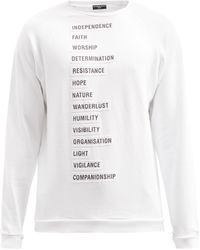 Raf Simons - Ss02 コットンスウェットシャツ - Lyst
