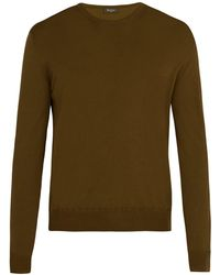 Berluti - Crew Neck Wool Sweater - Lyst