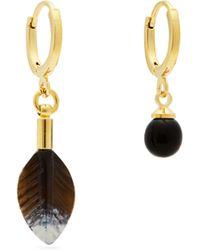 Isabel Marant - Aloha Flower And Bead Embellished Earrings - Lyst