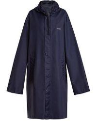 Vetements - Horoscope Gemini Hooded Raincoat - Lyst