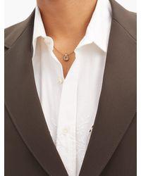Fernando Jorge Thin 18kt Gold Snake-chain Necklace - Metallic