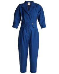 Sea - Kamille Cotton-blend Jumpsuit - Lyst