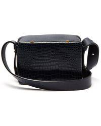 Lutz Morris - Maya Crocodile Effect Leather Shoulder Bag - Lyst