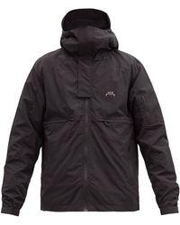 A_COLD_WALL* * ストーム フーデッドジャケット - ブラック