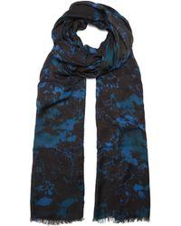 Balmain - Camouflage-print Scarf - Lyst