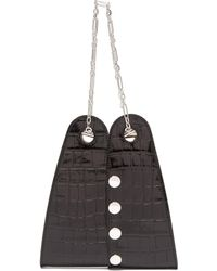 Lemaire Mini Double Folded Bag - Black