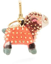 Burberry | Wendy Sheep Cashmere Key Ring | Lyst