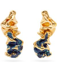 Marni - Crinkle Earrings - Lyst