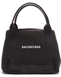 Balenciaga カバス S キャンバストートバッグ - ブラック