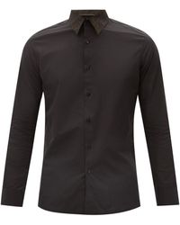Fendi コットンポプリンシャツ - ブラック