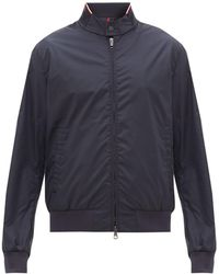 Moncler - Reppe Logo-patch Technical Bomber Jacket - Lyst