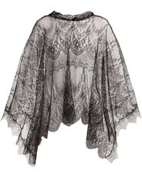 Maria Lucia Hohan - Delphine Chantilly Lace Cape - Lyst
