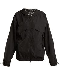 adidas By Stella McCartney - Hooded Performance Jacket - Lyst