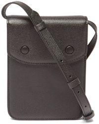 Maison Margiela Leather Cross-body Bag - Black