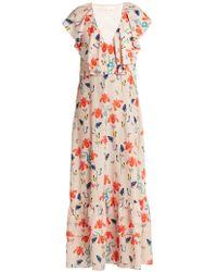 Borgo De Nor - Carlotta Crepe Maxi Dress - Lyst