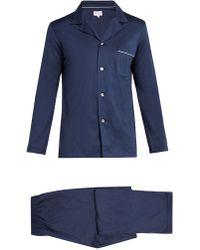 Derek Rose - Bari Modern-fit Cotton-jersey Pyjama Set - Lyst