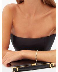 Jade Trau Penelope Diamond & 18kt White Gold Bracelet - Multicolour