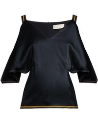 Peter Pilotto - Off-the-shoulder Top - Lyst