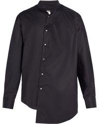 Wooyoungmi - Asymmetric Cotton-blend Shirt - Lyst