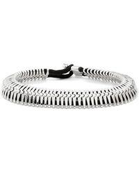 Miansai - K-link Silver Bracelet - Lyst