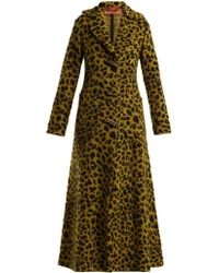 Missoni - Leopard Jacquard Terry Coat - Lyst