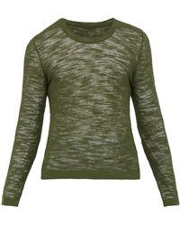 Jacquemus Elie Crew-neck Sweater - Green