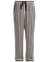 Morgan Lane - Ryan Striped Pyjama Trousers - Lyst