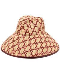 3f6030aa0b Gucci Wool-Felt Beret Hat in Red - Lyst