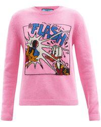 Gucci X Disney ドナルドダック ウールセーター - ピンク