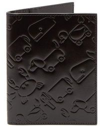 Thom Browne - Toy Icon Leather Passport Holder - Lyst