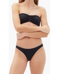 Melissa Odabash Cayman High-cut Bikini Briefs - Black