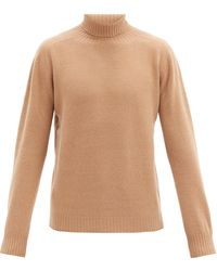 Altea - Roll-neck Wool-blend Sweater - Lyst