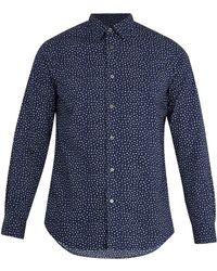 Paul Smith - Ditsy Floral-print Cotton-poplin Shirt - Lyst