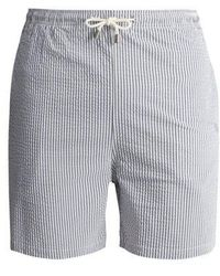 Solid & Striped - The Classic Striped Swim Shorts - Lyst