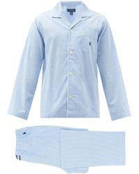 Polo Ralph Lauren ギンガム コットンパジャマ - ブルー
