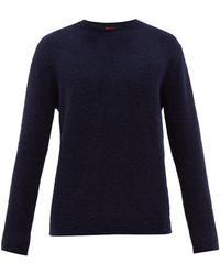 Barena ビバ メリノウールセーター - ブルー